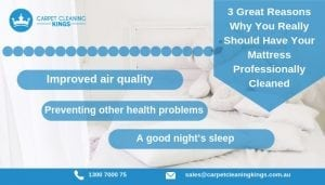 3 Great Reasons Why You Really Should Have Your Mattress Professionally Cleaned