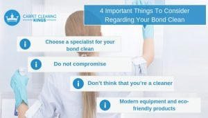 4 Important Things To Consider Regarding Your Bond Clean