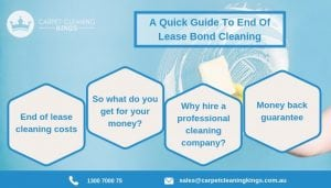 A Quick Guide To End Of Lease Bond Cleaning