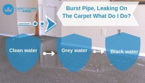 Burst Pipe, Leaking On The Carpet What Do I Do_