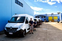Carpet Cleaning Kings Team Vans