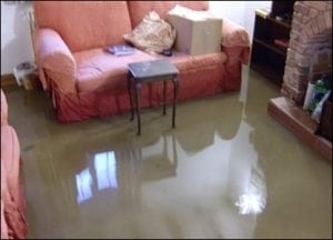 Deal With The Situation Of A Flooded Carpet