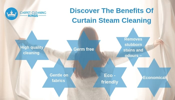 Discover The Benefits Of Curtain Steam Cleaning
