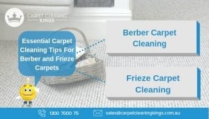 Essential Carpet Cleaning Tips For Berber and Frieze Carpets