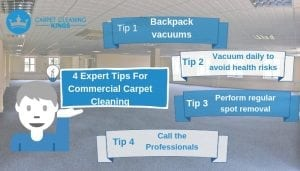 Expert Tips For Commercial Carpet Cleaning