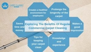 Exploring The Benefits Of Regular Commercial Carpet Cleaning