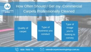 How Often Should I Get my Commercial Carpets Professionally Cleaned