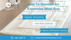 How To Maintain An Expensive Wool Rug