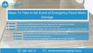 Steps To Take In the Event of Emergency Flood Water Damage