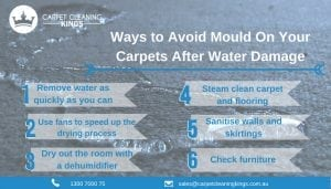 Ways to Avoid Mould On Your Carpets After Water Damage