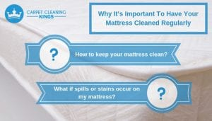 Why It's Important To Have Your Mattress Cleaned Regularly