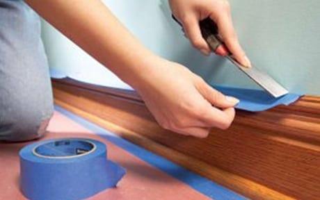 area preparation vinyl cleaning