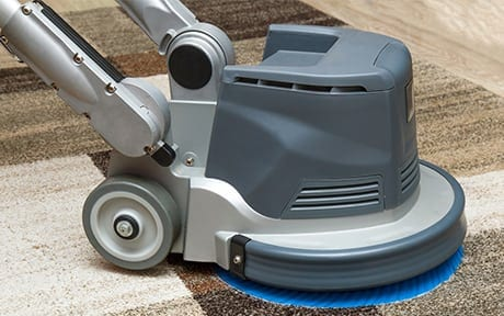 Carpet cleaning kings carpet drying with padding machine