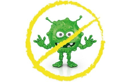 killing germs antibacterial treatment