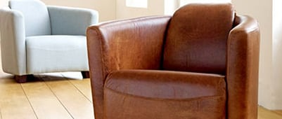 leather tub chair clean and condition