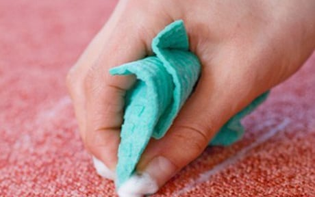 spot treatment upholstery cleaning