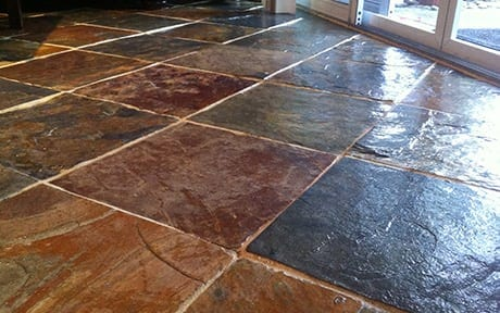 tile cleaning slate floors