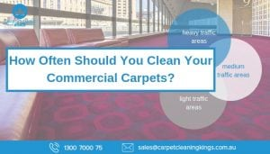 How Often Should You Clean Your Commercial Carpets