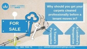 Why should you get your carpets cleaned professionally before a tenant moves in_