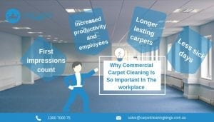 why commercial carpet cleaning is so important to your workplace