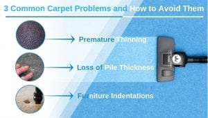 3 Common Carpet Problems and How to Avoid Them