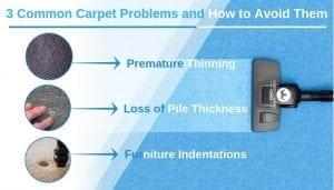 3 Common Carpet Problems