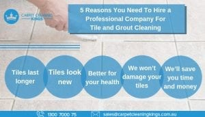 5 Reasons You Need To Hire a Professional Company For Tile and Grout Cleaning