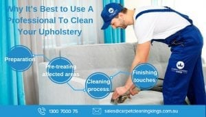 Why It's Best to Use A Professional To Clean Your Upholstery