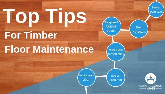 Top Tips For Timber Floor Maintenance