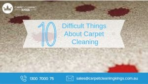 Difficult Things About Carpet Cleaning