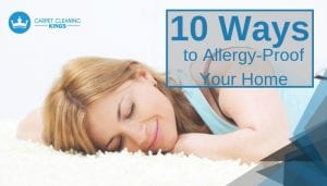 ways to allergy proof your home