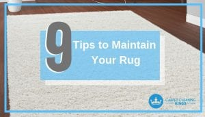 Tips to Maintain Your Rug